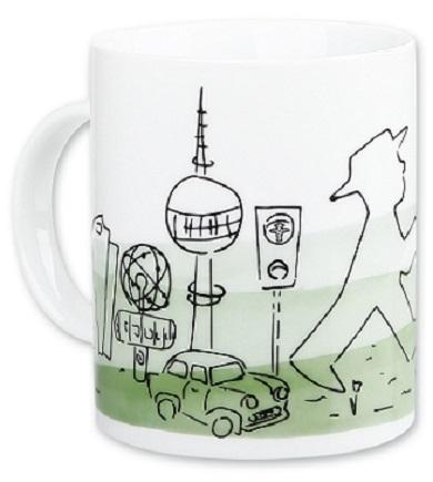 Ampelmann Cups