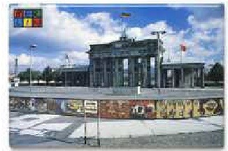 Magnet Berlin The Wall +B´Tor