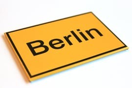 Magnet Ortsschild Berlin