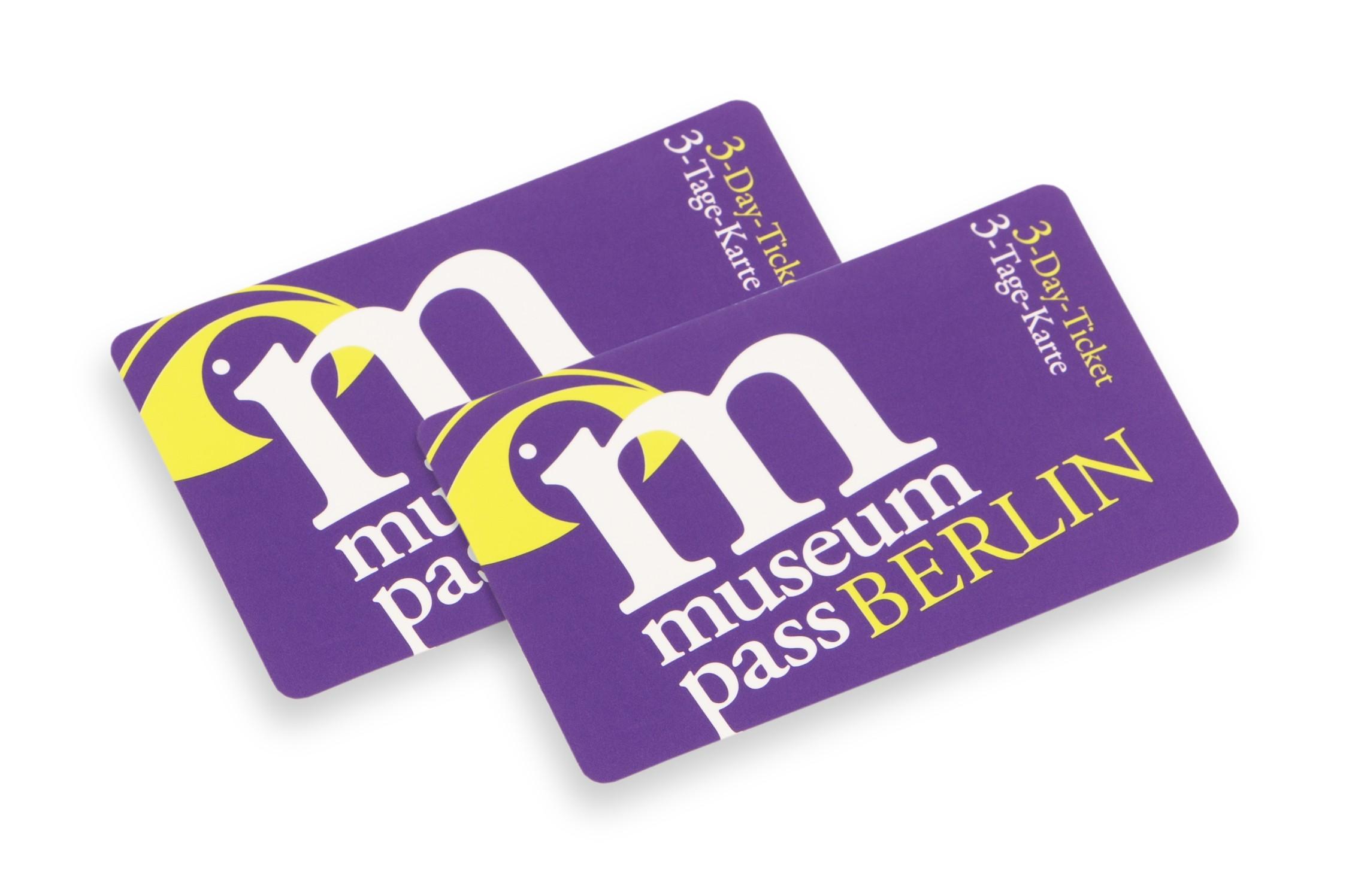 Museumpass Berlin 3-Tage-Karte Ermäßigt