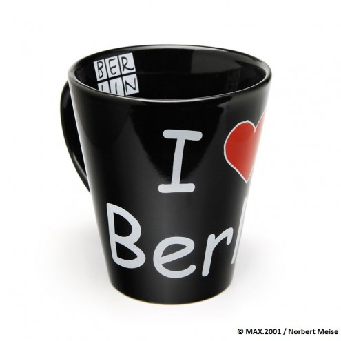 "Tasse ""I Love Berlin"" schwarz"