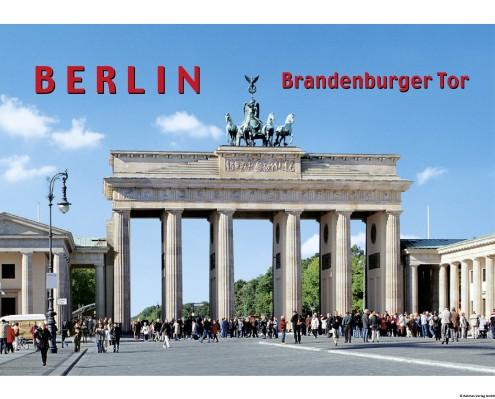 Bildmagnet Brandenburger Tor am Tag