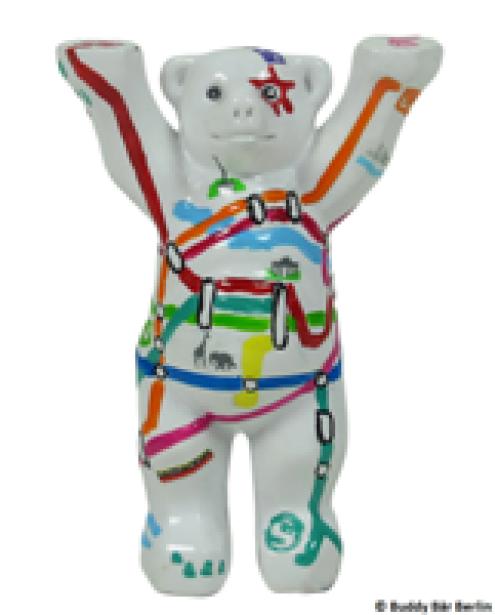 Buddy Bear Berliner Netz mini
