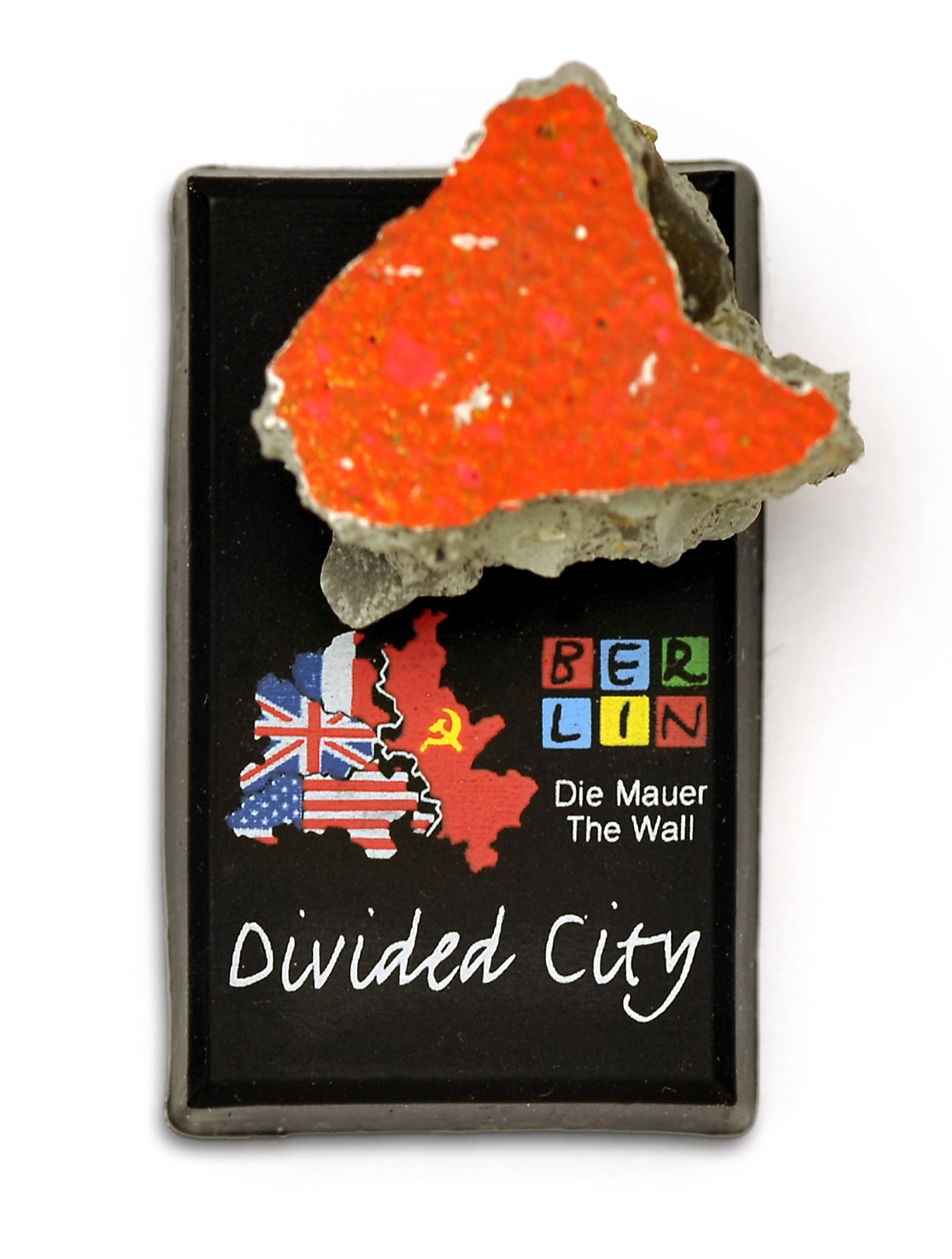 "Magnet Piece of The Wall ""Divided City"""