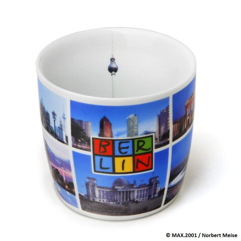Tasse Berlin mit Fotomotiven