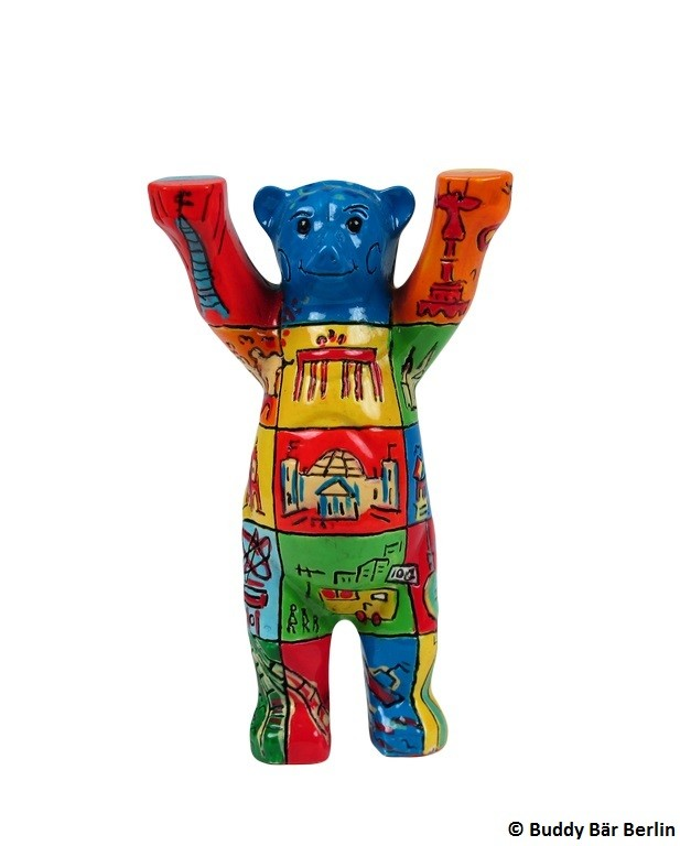 Buddy Bear Berlin Squares Mini