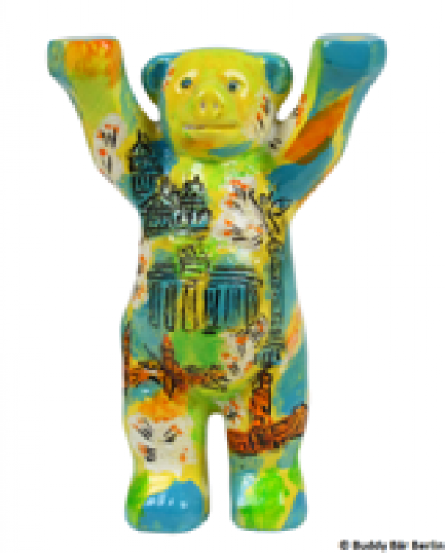 buddy bear Berlin spring mini
