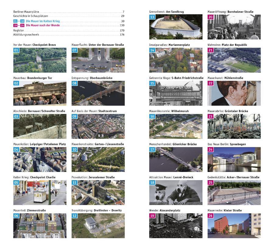 Architekturführer Berliner Mauer Produktinformation