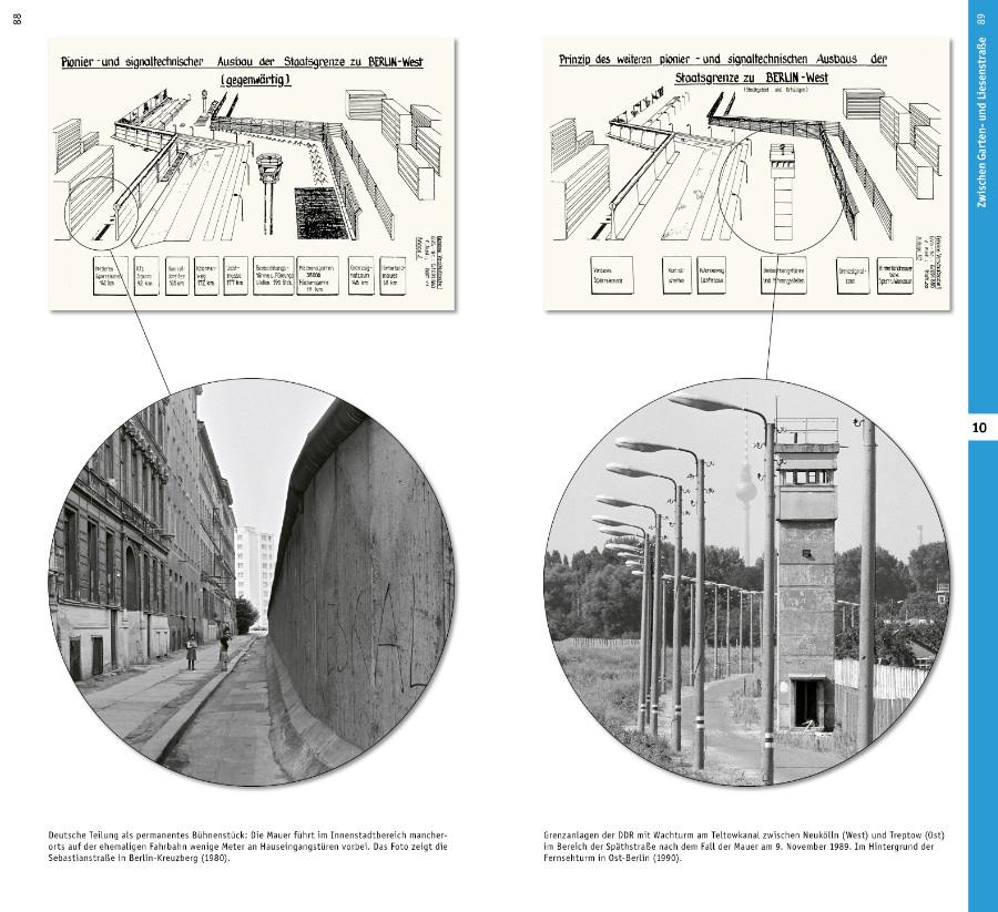Architekturführer Berliner Mauer Innenansicht Vorschaubild