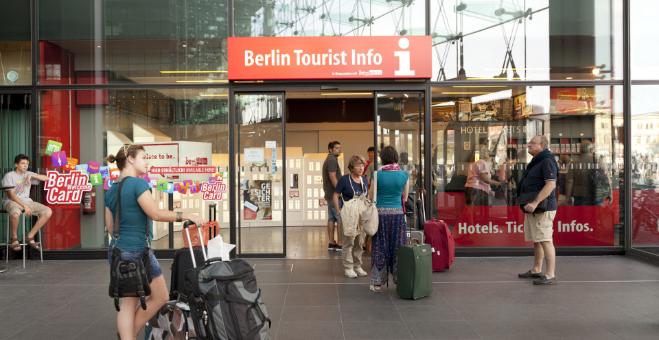 Berlin Tourist Info Centre at Berlin Central Station