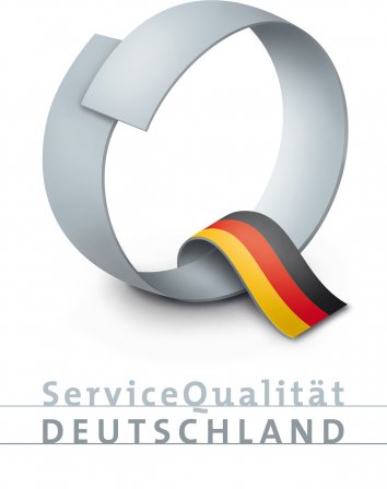 Certificated by Service Quality Germany